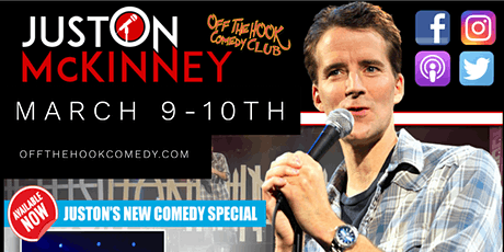 Comedian Juston McKinney live  in Naples, Florida tickets