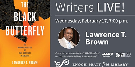 Writers LIVE! Lawrence T. Brown, The Black Butterfly tickets