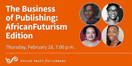 The Business of Publishing: AfricanFuturism Edition tickets