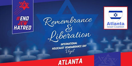 EJH and AIC: Holocaust Remembrance Day Vigil (Atlanta) tickets