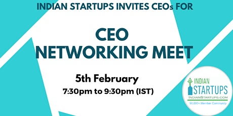 CEO Networking Meet tickets