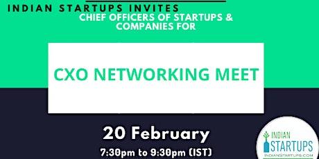 CXO Networking Meet tickets