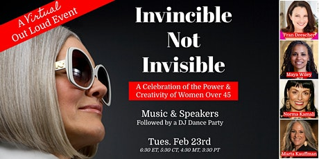 Invincible Not Invisible: Virtual NextTribe Out Loud tickets