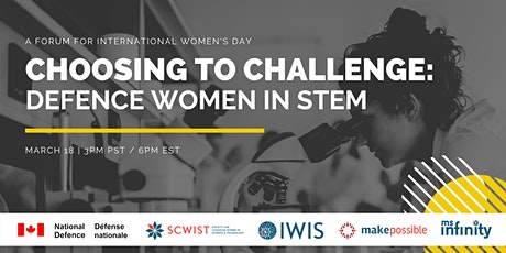 Choosing to Challenge – Defence Women in STEM tickets