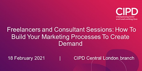How To Build Your Marketing Processes to Create Demand tickets