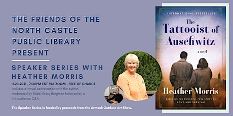 Author Talk with Heather Morris tickets