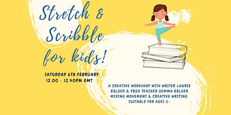 Kids Stretch and Scribble - Yoga and Creative Writing tickets