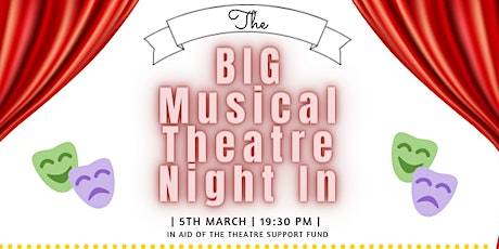 The Big Musical Theatre Night In tickets