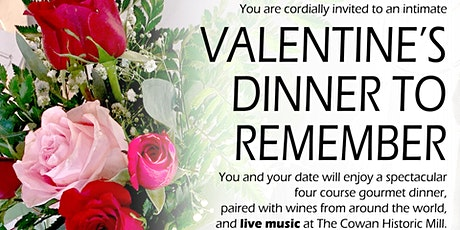 Valentine's Dinner to Remember tickets