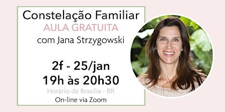 Constelação Familiar - AULA GRATUITA - 25/01 ingressos