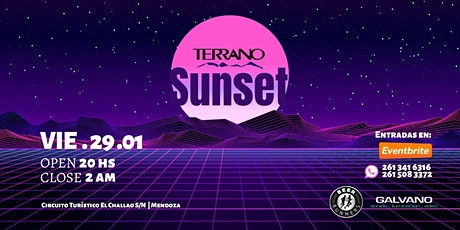 TERRANO SUNSET RUNNERS entradas
