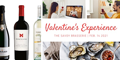 Make Your Stay Home Valentines Special - The Savoy Brasserie tickets