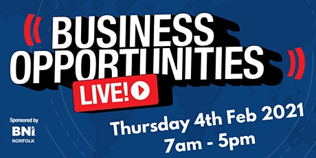 Business Opportunities LIVE (Norfolk) tickets