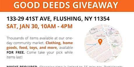 Community Market & Good Deeds Giveaway tickets