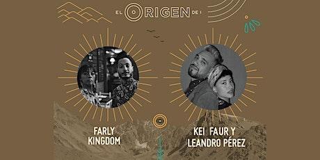 Farly Kingdom & Kei Faur y Leandro Pérez entradas