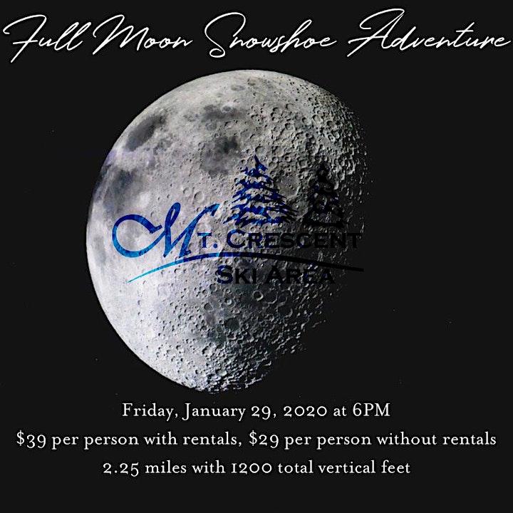 Full Moon Snowshoe Adventure image