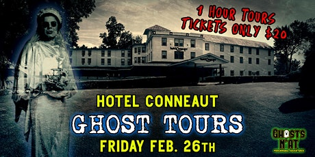 Hotel Conneaut Ghost Tours   Friday February 26th 2021 tickets