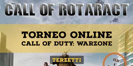 Call Of Rotaract: il Torneo biglietti