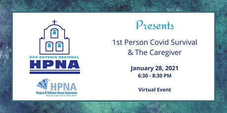 1st Person Covid Survival and The Caregiver tickets