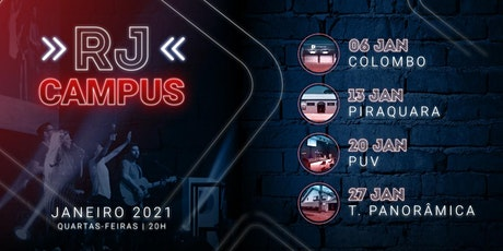 Culto RJ Campus - Torre Panorâmica entradas