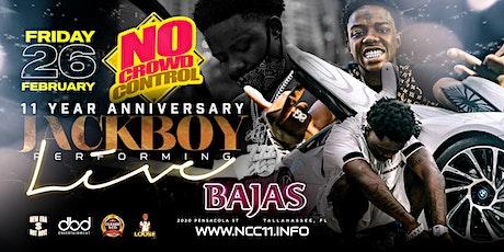 Nocrowdcontrol 11 yr Anniversary WkND  w/ JackBoy Friday  Feb 26 tickets
