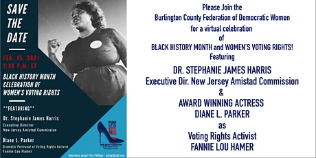 Black History Month Celebration of Women's Voting Rights tickets