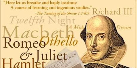 Interactive Shakespearean Text Analysis and Scene Study tickets