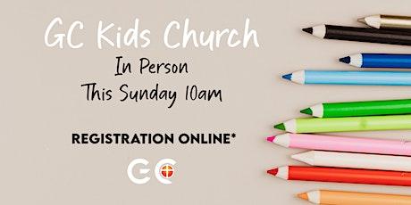 GC KIDS CHURCH tickets