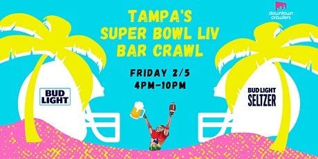Tampa's Super Bowl LIV Bar Crawl tickets