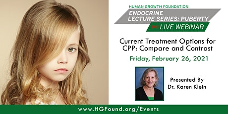 Current Treatment Options for CPP: Compare and Contrast -HGF Lecture Series tickets