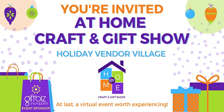At Home Craft & Gift Show - Holiday Vendor Village image