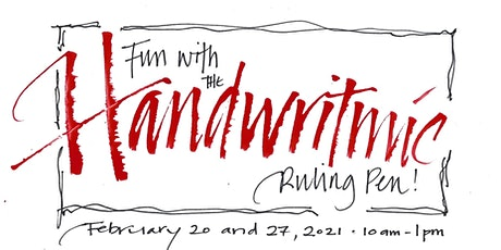 Fun with the Handwritmic Ruling Pen! tickets