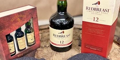 Redbreast Single Pot Still Irish Whiskey Hybrid Tasting tickets