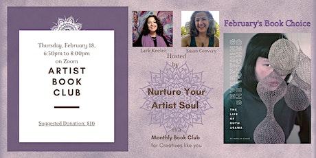 Cr8V Soul - Virtual Artist Book Club tickets