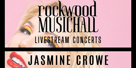 Jasmine Crowe - Facebook Live - THANK YOU for your generous donation. tickets