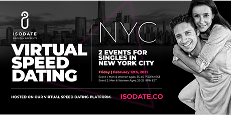 Isodate's NYC Virtual Speed Dating tickets