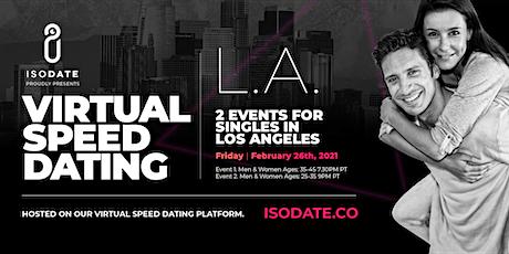 Isodate's LA Virtual Speed Dating tickets