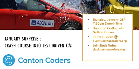 January Surprise : Crash Course into test driven C# tickets
