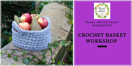 Crochet Basket Workshop tickets