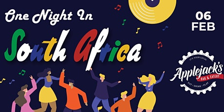 One Night In South Africa @ Applejacks tickets