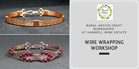 Wire Wrapping Bracelet Workshop tickets