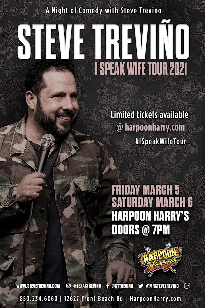 A Night Of Comedy With STEVE TREVINO:  I SPEAK WIFE TOUR image