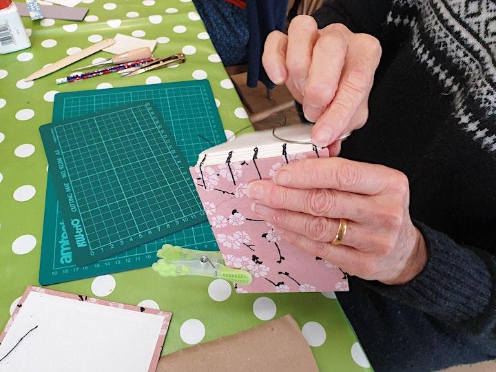 Handmade Bookbinding Workshop image