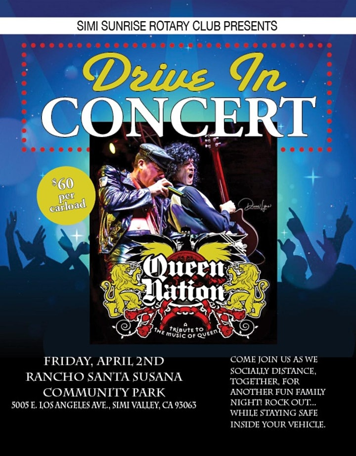 Drive-In Concert with Queen Nation! image