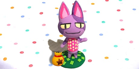 60min Sculpt Animal Crossing's Bob Clay Lesson  @3PM  (Ages 5+) tickets