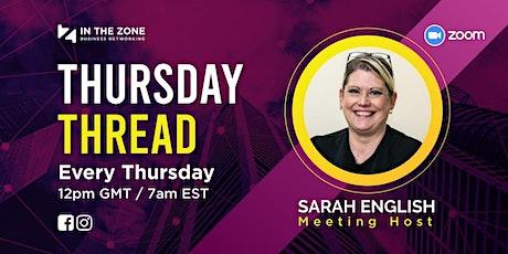 Thursday Thread | Online Business Networking biglietti