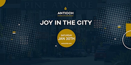 Joy in the City, a Safe and Socially Distanced Giveaway tickets