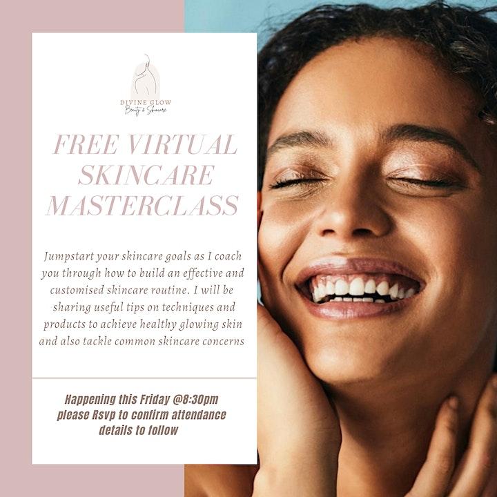 Virtual Skincare Masterclass image