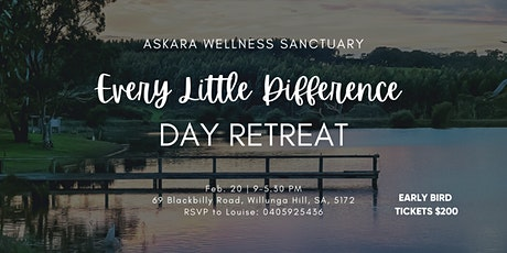 EVERY LITTLE DIFFERENCE DAY RETREAT tickets