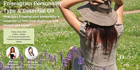 Enneagram Personality Type and Essential Oil tickets